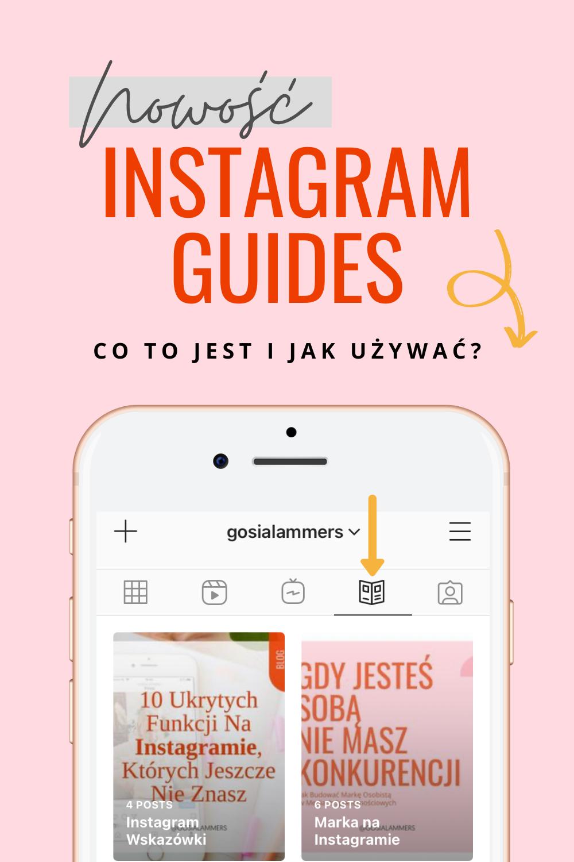 Instagram Guides jak uzywać