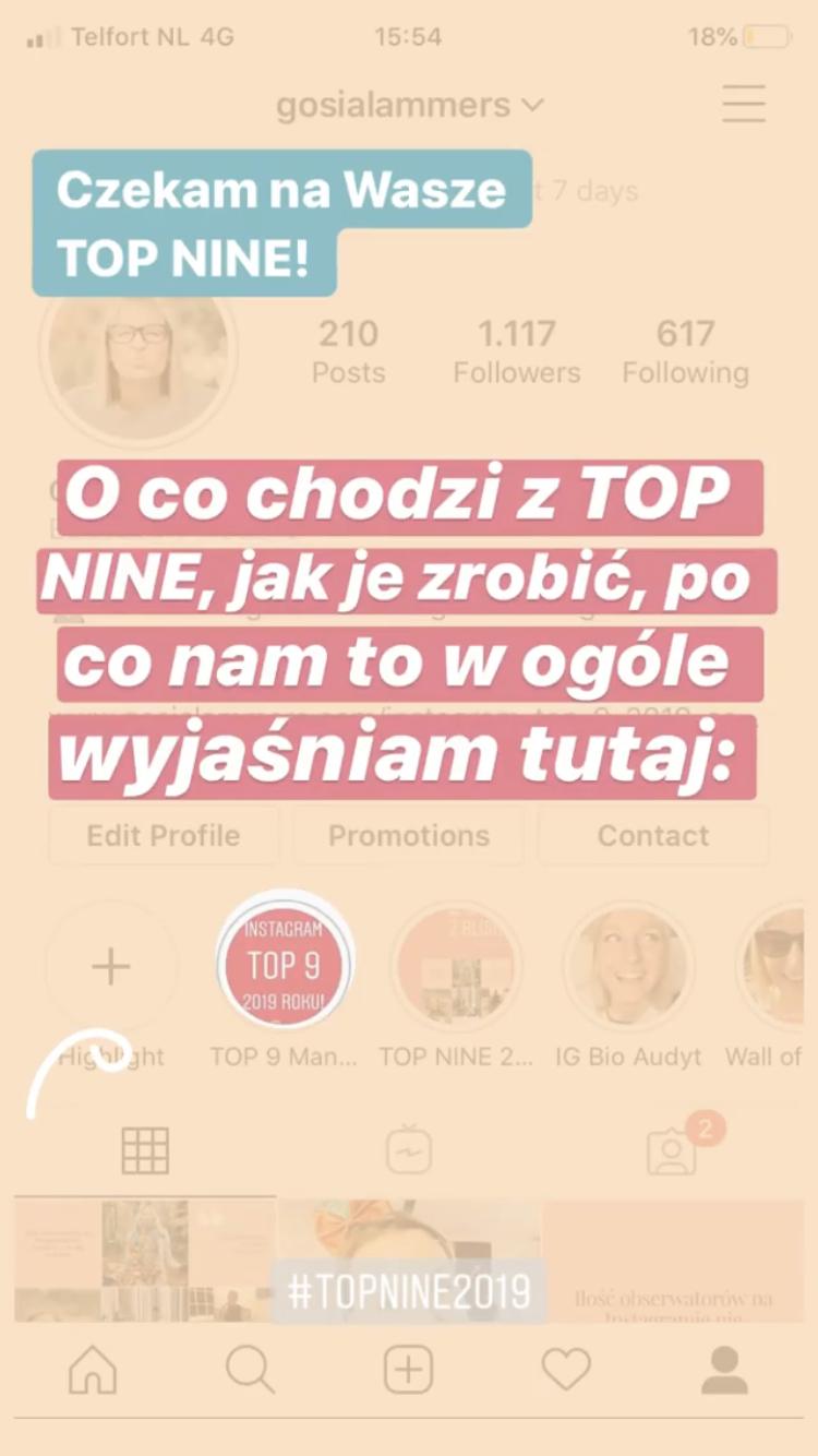 Jak Zrobić Best Nine 2019 na Instagramie